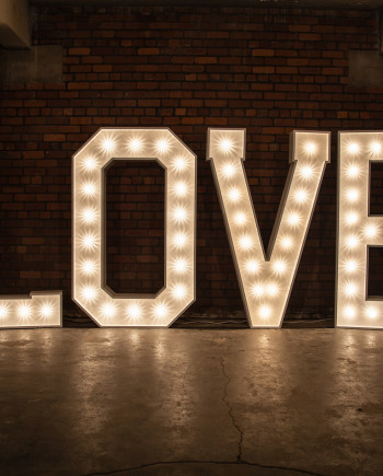 'LOVE' Marquee Lights